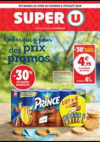 Prospectus Super U ECOUEN : EMBARQUEZ POUR DES PRIX PROMOS
