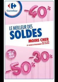 Prospectus Carrefour NOISY LE GRAND : LE MEILLEUR DES SOLDES MOINS CHER