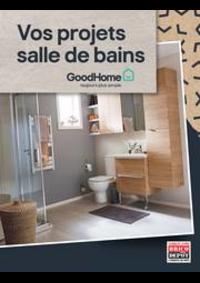 Prospectus Brico Dépôt FLEURY MEROGIS - STE GENEVIEVE DES BOIS : Vos projets salle de bains