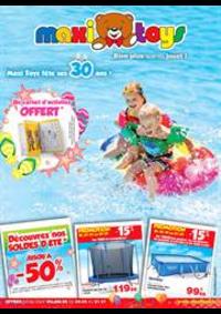 Prospectus Maxi Toys FRESNES : Bien plus que du jouet!