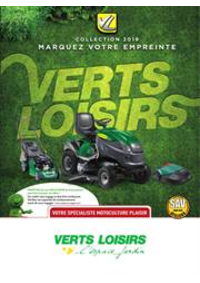 Prospectus Verts Loisirs Contrexéville : Collection 2019