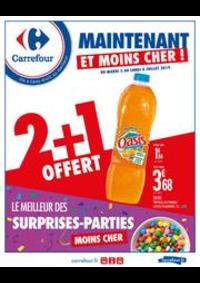 Prospectus Carrefour Montreuil : Maintenant et moins cher ! Le meilleur des surprises-parties