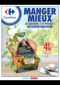 Prospectus Carrefour GENNEVILLIERS : MANGER MIEUX AU QUOTIDIEN, C'EST POSSIBLE