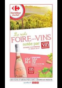 Prospectus Carrefour Market PARIS 102-104 AVENUE GENERAL LECLERC : Foire aux vins