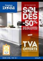 Prospectus Ixina : Soldes