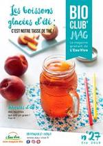 Prospectus L'eau vive : Les boissons glacées d'été