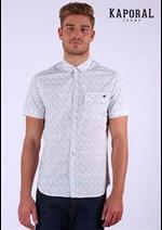 Prospectus Kaporal  : Chemises Homme