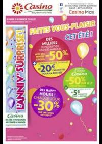 Prospectus Supermarchés Casino MORTEAU : Faites vous-plaisir cet été !