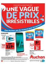 Prospectus Auchan : Une vague de prix irrésistibles