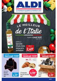 Prospectus Aldi Champigny-sur-Marne : Le Meilleur de l'Italie