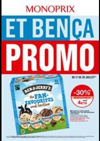 Prospectus Monoprix Saint-Cyr-l'École : Et bença promo