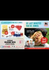 Prospectus Supermarché Delhaize Tubize : Folder Delhaize
