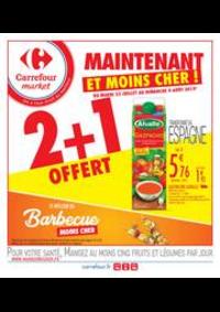 Prospectus Carrefour Market VIARMES : Maintenant et moins cher