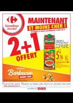Prospectus Carrefour Market : Maintenant et moins cher