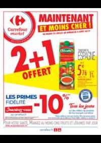 Prospectus Carrefour Market GUYANCOURT : Maintenant et moins cher
