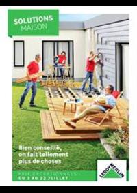 Prospectus Leroy Merlin Vitry-sur-Seine : Solutions Maison