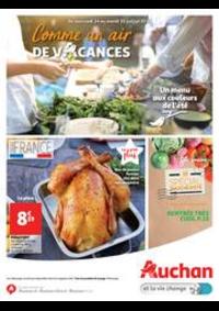 Prospectus Auchan ISSY LES MOULINEAUX : Comme un air de vacances