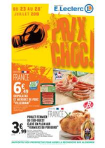 Prospectus E.Leclerc : Prix choc !