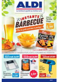 Prospectus Aldi Sarcelles : Instants Barbecue