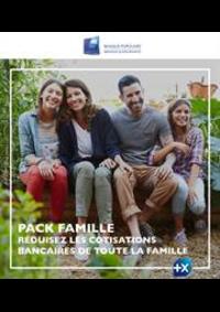 Prospectus Banque Populaire GENNEVILLIERS : Catalogue Banque Populaire