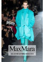 Catalogues et collections Max Mara : Collection AutomneHiver 2019