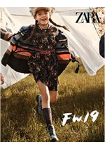 Catalogues et collections ZARA : Kids Campaing FW19
