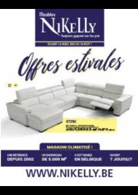 Promos et remises Meubles Nikelly : Offres estivales