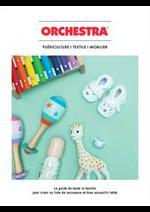 Prospectus Orchestra : Guide d'achat puericulture