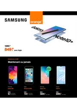 Prospectus Orange : Orange Samsung Actions