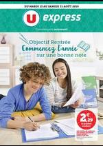 Prospectus U Express : Catalogue U Express