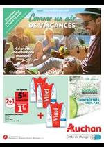 Prospectus Auchan : Comme un air de vacances