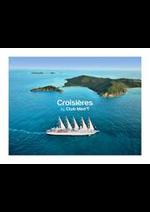 Prospectus club med voyage : CROISIÈRES BY CLUB MED