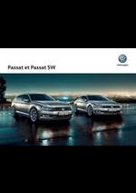 Promos et remises  : Volkswagen Passat et Passat SW