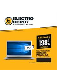 Prospectus ELECTRO DEPOT : PLANS Electro Depot