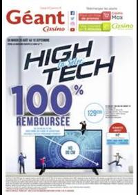 Prospectus Géant Casino BOISSY SAINT LÉGER : La selec' High Tech