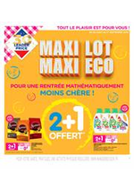 Promos et remises  : Maxi Lot Maxi Eco