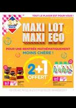 Promos et remises Leader Price : Maxi Lot Maxi Eco