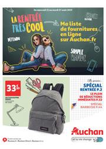 Prospectus Auchan drive : La rentrée très cool