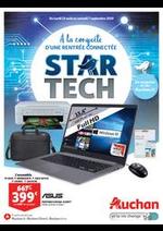 Promos et remises Auchan : Star Tech