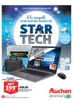 Promos et remises Auchan : Star Tech