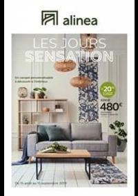 Prospectus Alinéa PARIS - ROSNY-SOUS-BOIS : Les jours sensation