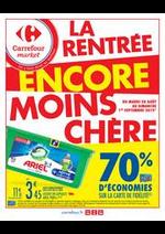 Promos et remises Carrefour Market : La rentrée encore moins chère