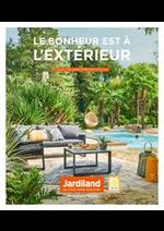 Prospectus Jardiland : Le bonheur est à l'exterieur Printemps-Été 2019
