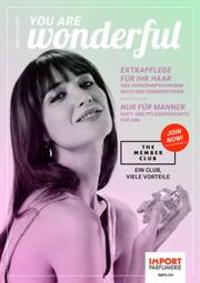 Prospectus Import Parfumerie Bern - 24 Marktgasse : You are wonderful