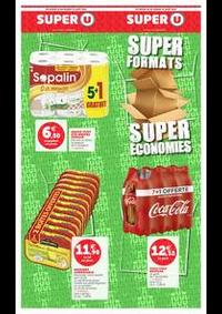 Bons Plans Super U : SUPER FORMATS SUPER ÉCONOMIES