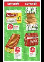 Prospectus Super U : SUPER FORMATS SUPER ÉCONOMIES