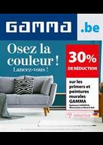 Promos et remises GAMMA : Osez La Coleour