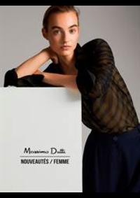 Prospectus Massimo Dutti LEVALLOIS-PERRET : Nouveautés / Femme