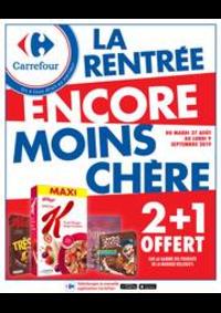 Promos et remises Carrefour CHARENTON LE PONT : LA RENTRÉE ENCORE MOINS CHÈRE