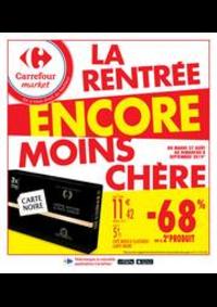 Promos et remises Carrefour Market CACHAN : La rentrée encore moins chère 2